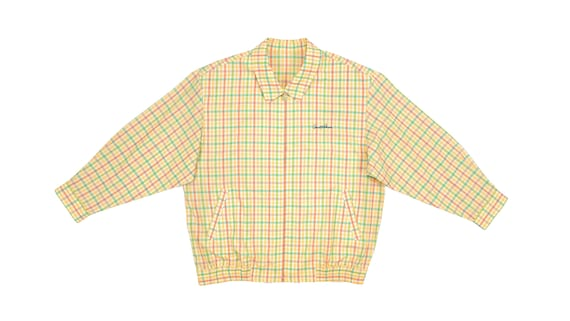 Vintage (Arnold Palmer) - Yellow & Orange Checkere