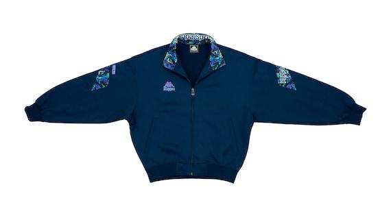Kappa - Blue Bomber Track Jacket 1990's Medium