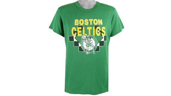 NBA - Boston 'Celtics' Spell-Out T-Shirt 1980's La