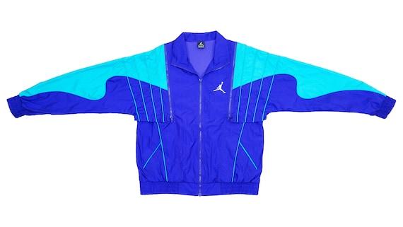 Jordan - Blue & Green Jumpman 'Warm Up' Jacket 199