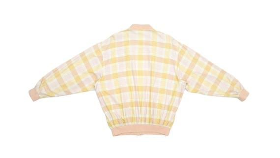 Lacoste - Yellow & Orange 'Chemise' Bomber Jacket… - image 2
