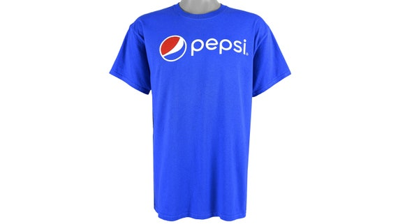 Vintage (Gildan) - Blue 'Pepsi' Big Spell-Out Dead