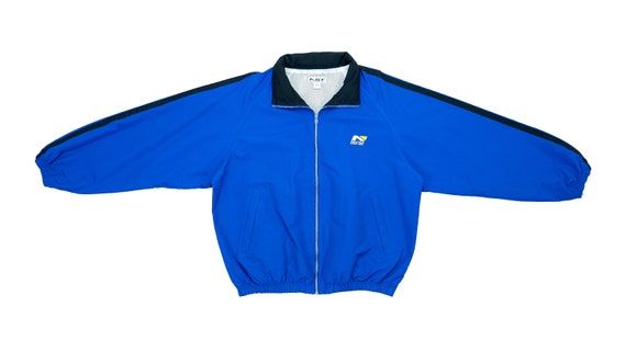 Nautica - Blue 'Sport Series' Jacket 1990's Large