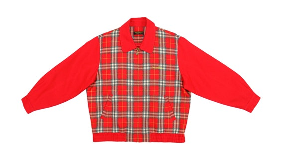 Vintage (Arnold Palmer) - Red Checkered Bomber Jac