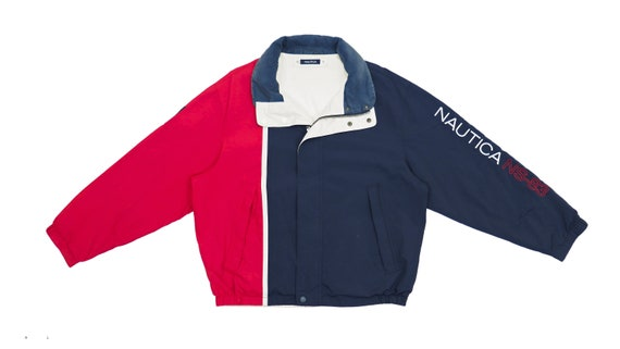 Nautica - Two Tone Red and Blue Reversible Jacket