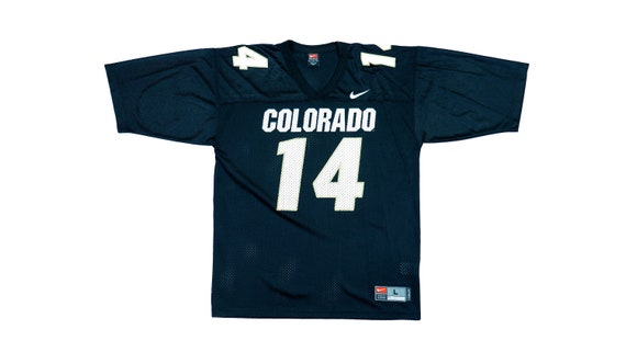 Nike - Colorado #14 Jersey 1990's Large