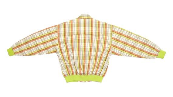 Ellesse - Striped Orange and Yellow Bomber Jacket… - image 2
