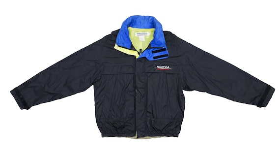 Nautica - Black 'Competition' Sailing Windbreaker