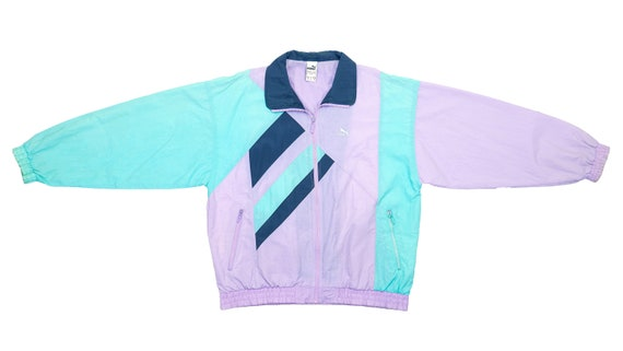 Puma - Light Purple & Light Blue 'Pastel' Windbrea