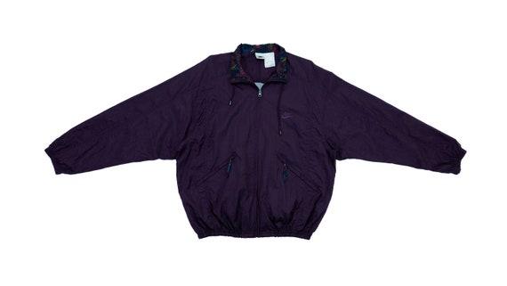 Nike - Purple Windbreaker 1990's Large