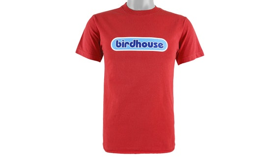 Vintage - 'Birdhouse' Skateboard T-Shirt Small