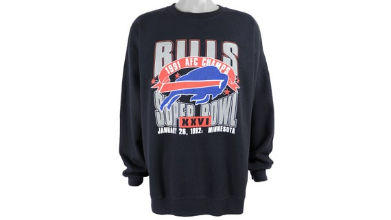 NFL (Trench) - Buffalo 'Bills' Crew Neck Sweatshir