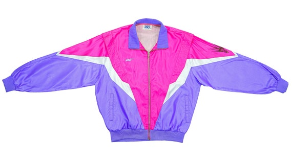 Asics - Pink & Purple Colorway Windbreaker 1990's