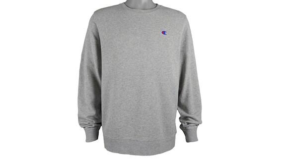 Champion - Grey 'Classic' Crew Neck Sweatshirt 199
