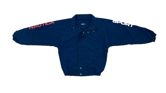 Nautica - Navy Blue 'Sport Series' Jacket 1990's L