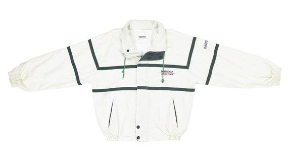 Nautica - White 'Competition' Sailing Jacket 1990'