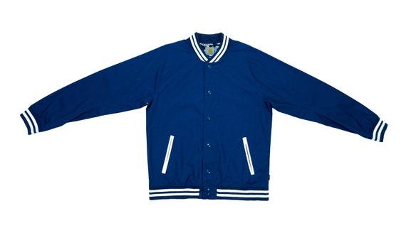 Carhartt - Blue Button Up Jacket 1990's Medium