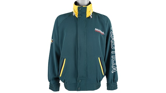 Nautica - Green 'Competition' Spell-Out Jacket 199