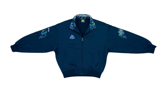 Kappa - Blue Bomber Track Jacket 1990's Medium