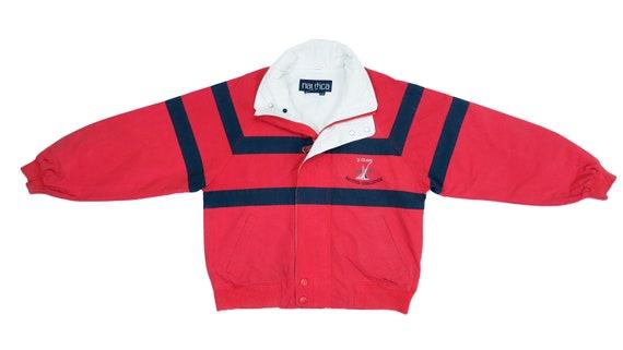 Nautica - Red 'Sailing Challenge' Jacket 1990's Me
