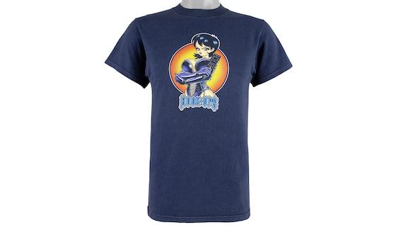 Vintage - Blue 'Hook-Ups, HWF' Skateboard T-Shirt