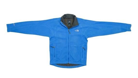 The North Face - Blue Zip Up Fleece Jacket 1990's
