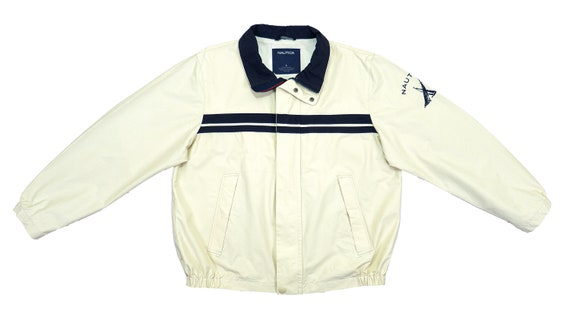 Nautica - Beige with Blue 'Competition' Sailing Ja