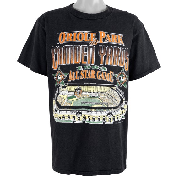 Vintage 90s Starter Brand Baltimore Orioles T Shirt size XL  O is for October Quality Made in USA
