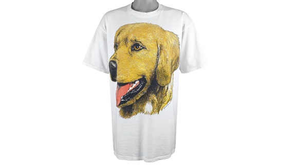 Vintage (Jerzees) - 'Golden Retriever' T-Shirt 199