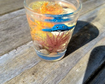 Pokémon Terrarium Custom Shot glass