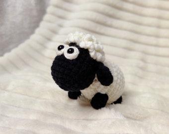 Black Sheep Amigurumi | Crochet Stuffed Doll | Handmade Knitted Toy