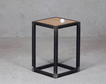 Sgabello metallo industriale design casa creativa e mobili