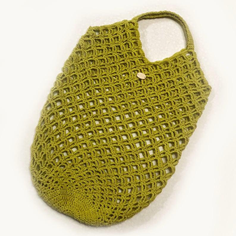 Shopping bag String bag Net Tote Bag Crochet Shopping Bag for Markets Totebag Eco friendly Ecobag for vegetable Avoska Reusable Mesh Bag