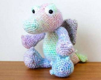 Crochet Rainbow Dragon