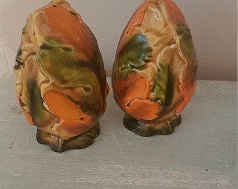 Autumn salt and pepper shakers