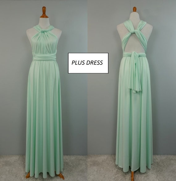 mint dress/ plus size bridesmaid dresses/ plus size dress/ plus size ball  gowns/ plus size dresses/ plus size maxi dresses/