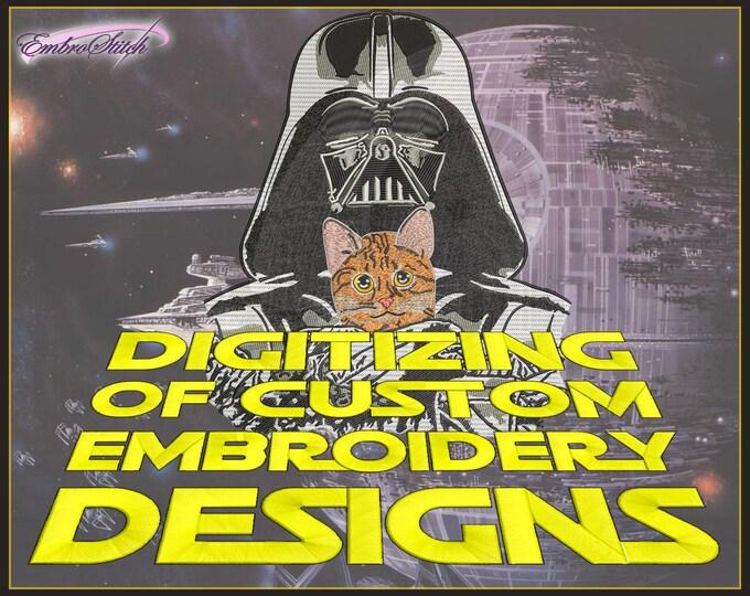 Custom Digitizing Embrostitch