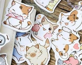 60642409b4bc 45 KiKi Cat stickers