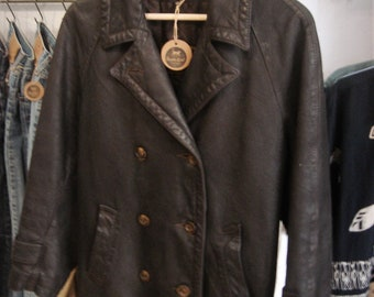Brown Leather Jacket 1960