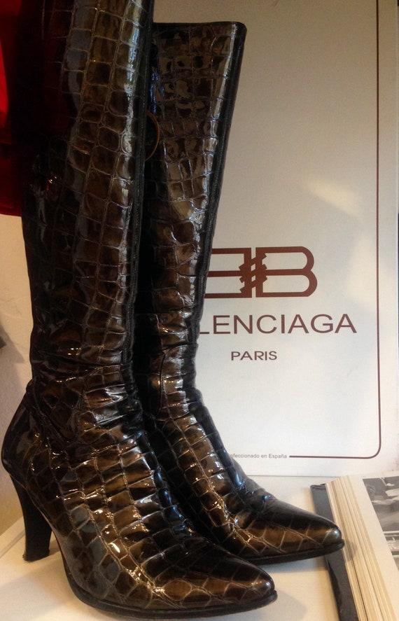 Balenciaga high boots
