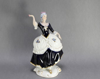 Royal Dux Porcelain Figurines Heron with Fish /& Angel Fish Sold Individually