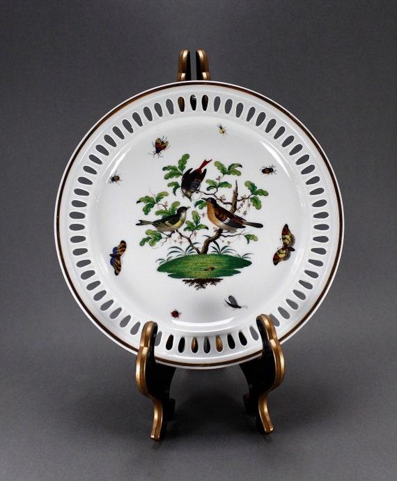 Antique Meissen Openwork Plate