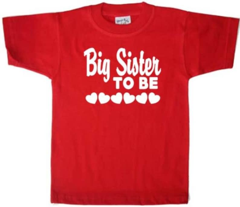 Big Sister To Be Shirt Kid/'s Shirt  Toddler Clothing Girl/'s Toddler Shirt Big Sister Toddler Shirt Toddlers Shirt  shirt for Toddler