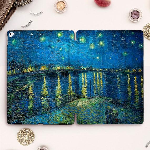 Van Gogh iPad 7 Case Starry Night iPad Pro 12.9 Case iPad 10.2 Case iPad Cover iPad Air 3 Case iPad Mini 5 Case iPad Pro 11 Case Painting