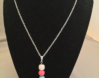 Oil Infused lava necklace