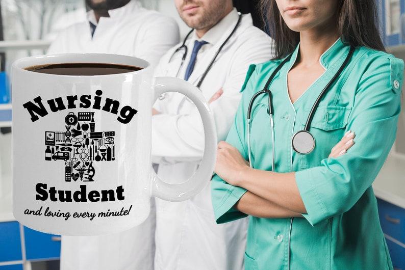 Nursing Student Mug Novelty Birthday Gift For Future Nurse