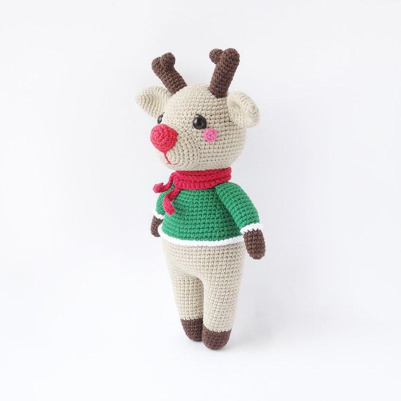 Amigurumi Christmas Reindeer Crochet Pattern