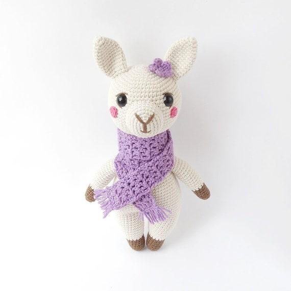 Lonzo the Amigurumi Llama | PDF Crochet Pattern – AiraliDesign | 570x570