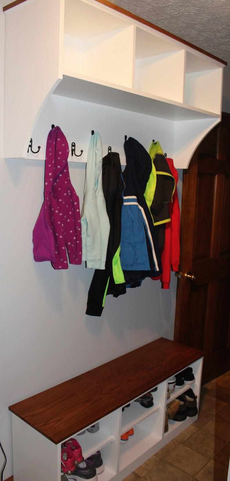 Hallway Bench Entryway Bench Shoe Rack or Shoe Shelf Shoe Bench works great as a Shoe Storage Bench