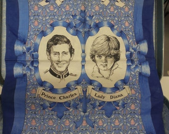 Royal Wedding Commemorative linen 1981